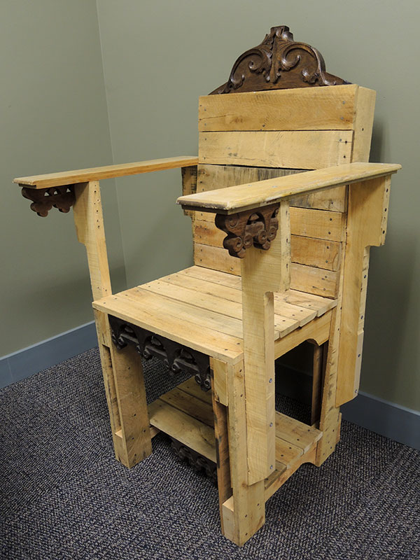DIY Pallet easy chair