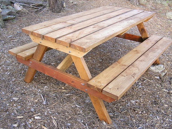 build your own picnic table