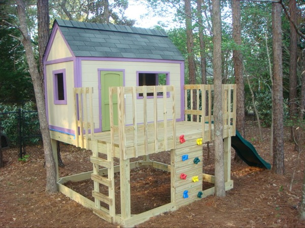 How to make a playhouse for kids