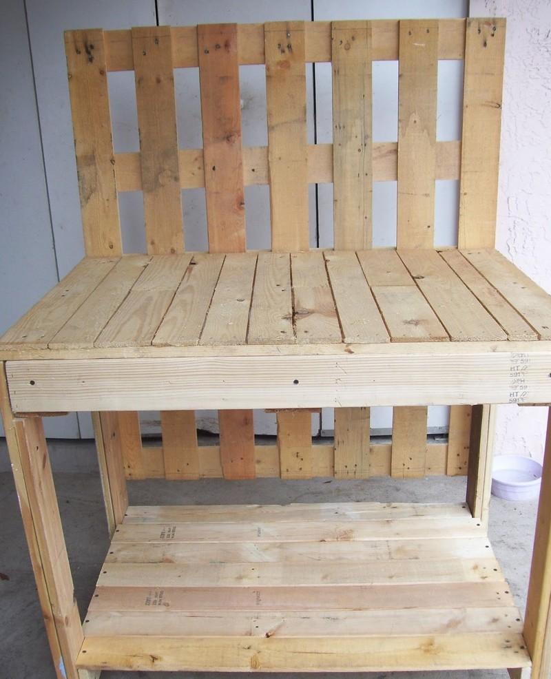 Diy Rustic Potting Bench Easy Diy And Crafts