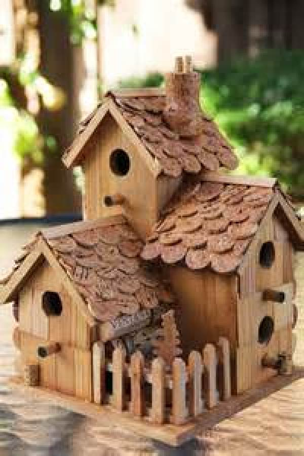 DIY Simple birdhouse plans