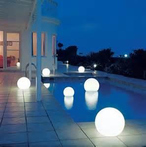 DIY Backyard outdoor lighting