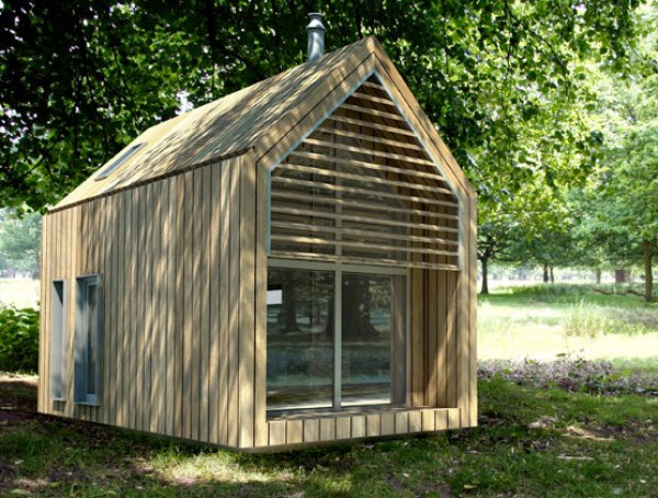 Easy DIY wooden shed