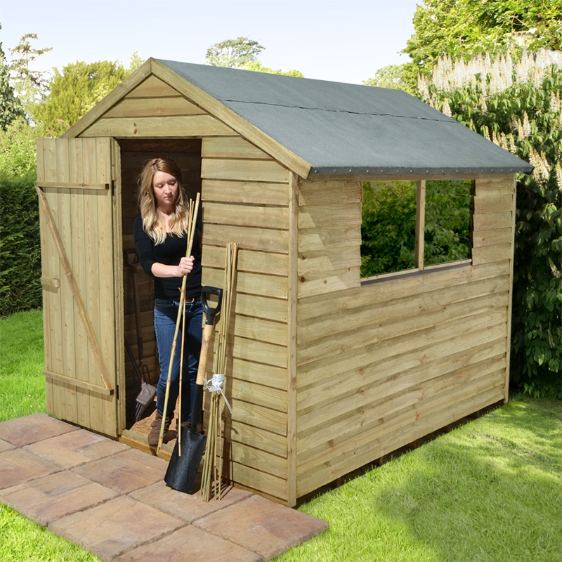 Easy wooden shed out of pallets easy diy and crafts for Wood storage building plans
