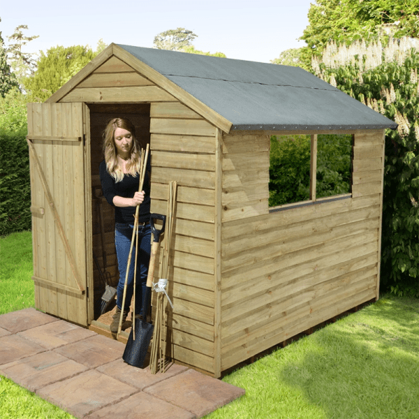 DIY Building a wooden shed