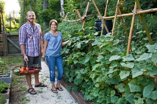 Small vegetable gardens ideas