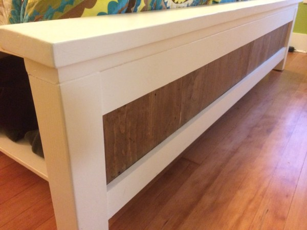 DIY Bed storage ideas