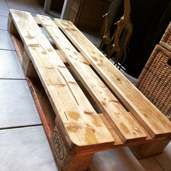 build your own pallet tv table