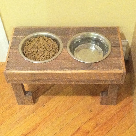how to make pallet bowl stand