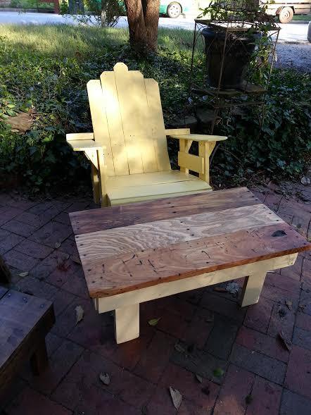 Easy DIY Garden furniture