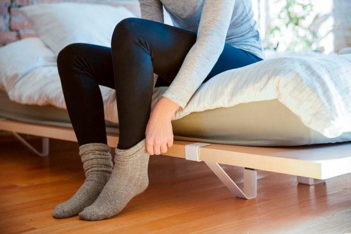 light-weight bed ideas