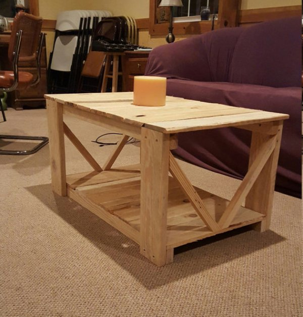 16 DIY Pallet Coffee Table