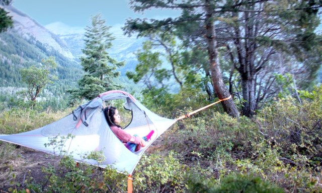 easy hanging camping ideas