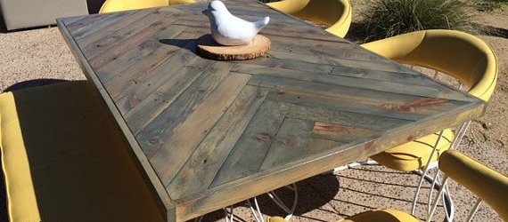 do it yourself pallet dining table