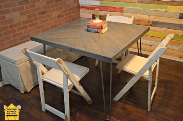 build your own rustic dining table