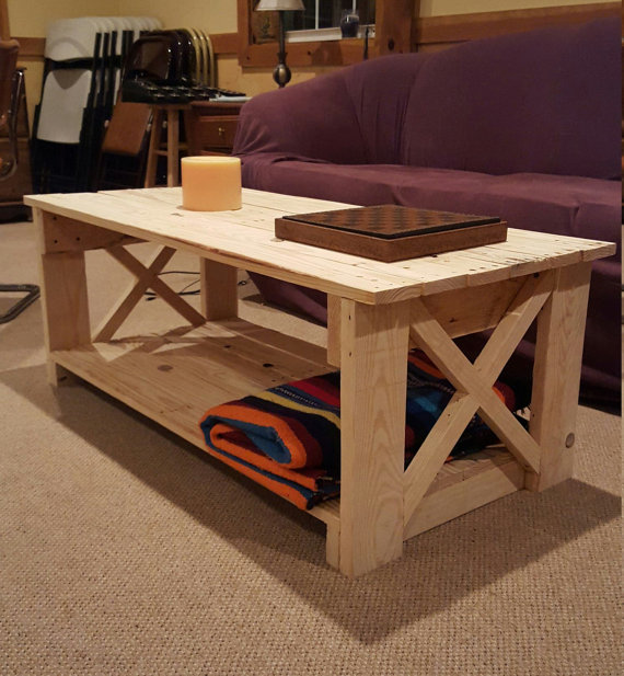 Homemade pallet coffee table instructions
