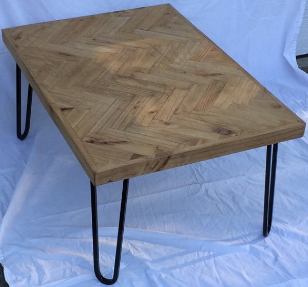diy rustic hairpen legs coffee table