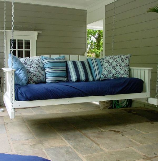 diy pallet swing daybed