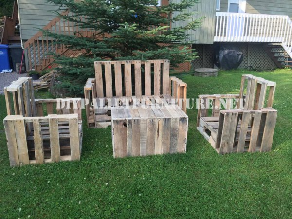 DIY pallet creativity