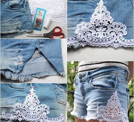 DIY Girls Shorts