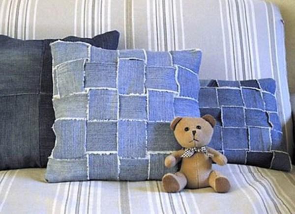 IDIY Denim Pillows