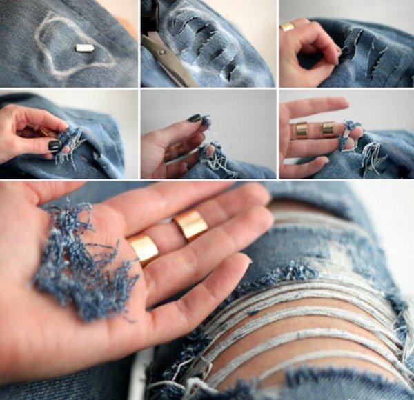 DIY Jeans Ideas