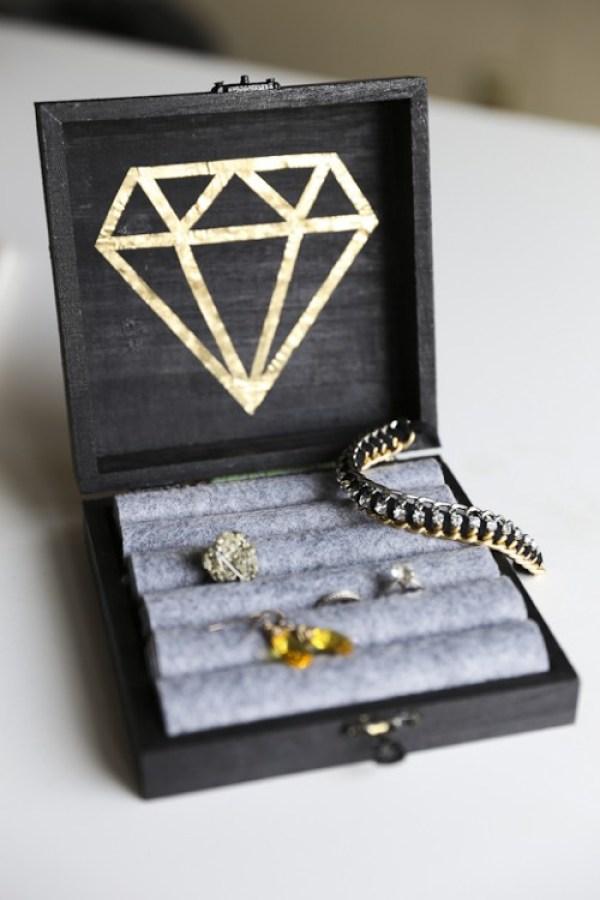 DIY Diamond Box