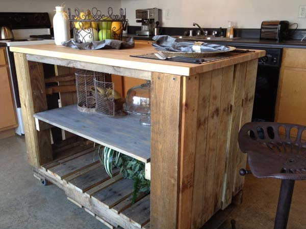 DIY Kitchen Pallet Ideas