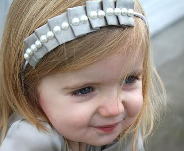 DIY Pearls For Little Girls
