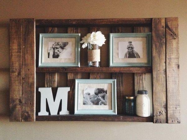 DIY Shelves Family Memories