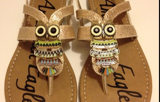 DIY Owl Shoes