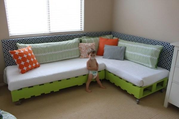 DIY Huge Bed Design