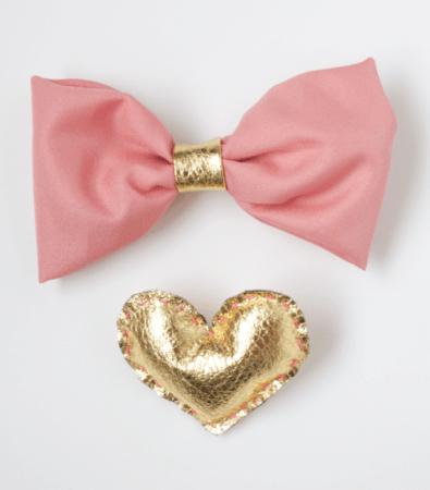 DIY Pink Girly Bow