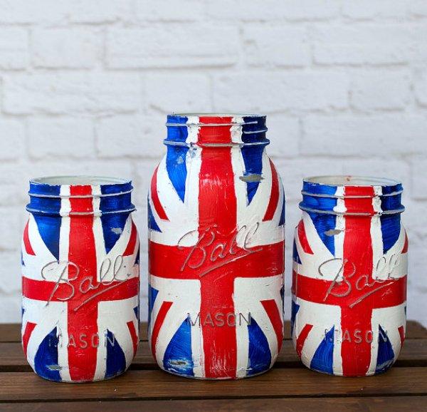 Jar Flag Craft