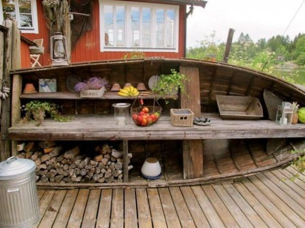 DIY Wooden Boat