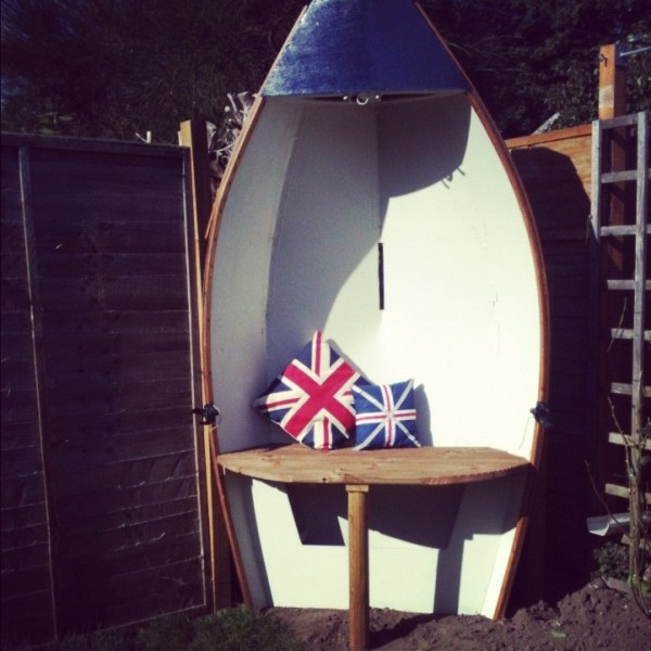 DIY British Boat