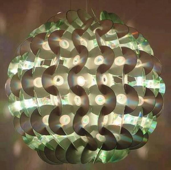 DIY Lamp CDs