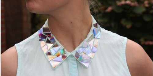 DIY Collar with CDs
