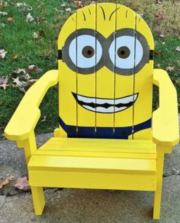 DIY Minion Chair