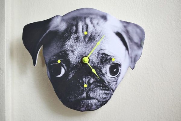 DIY Dog Clock