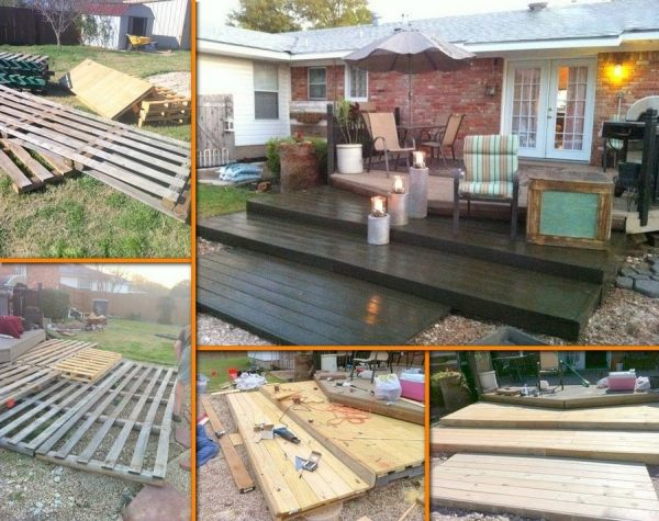 recycling old wooden pallet ideas