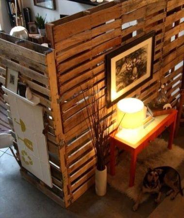 DIY Wooden Divider