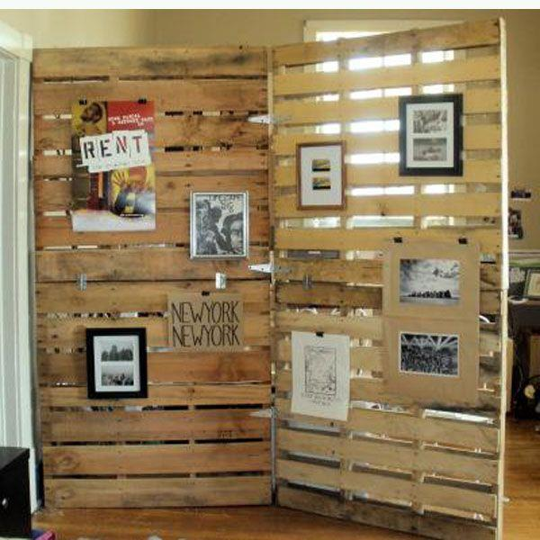 do it yourself pallet divider