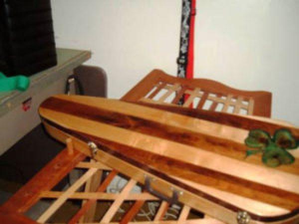 DIY Guitar pallet guitar box