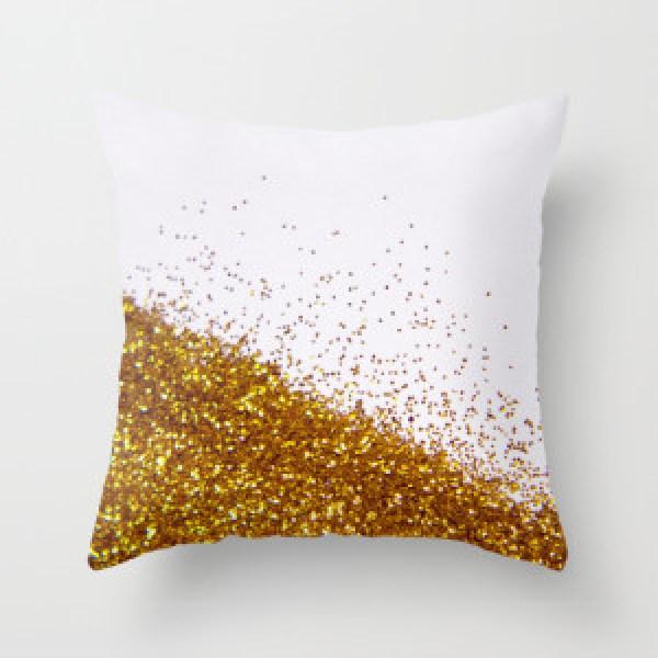 DIY Glitter Pillow