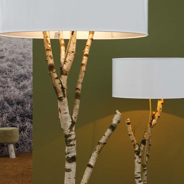 DIY Branches Lamp
