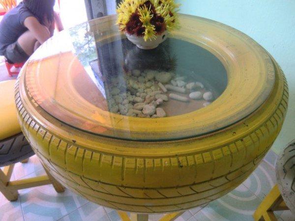 DIY Table Tire