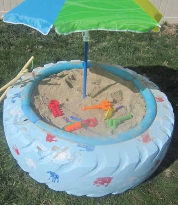 DIY Beach Tire