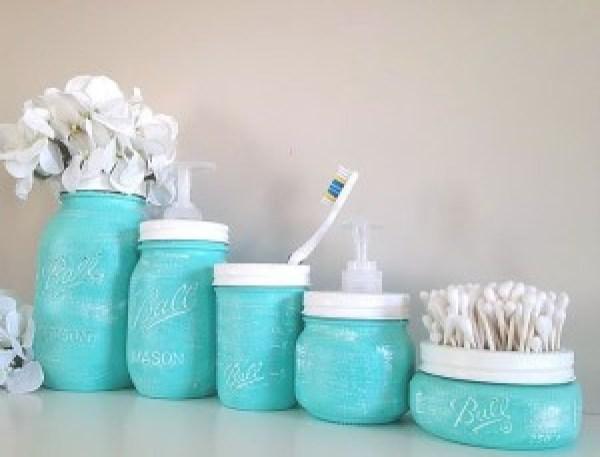 DIY Bathroom Jar