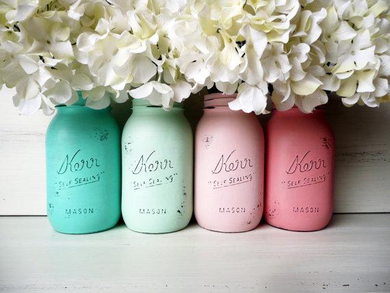 DUY Flowers Jar
